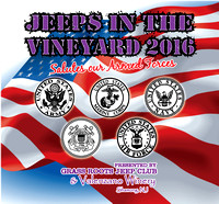Jeeps In The Vineyard 2016